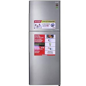 Tủ lạnh Sharp Inverter 341 lít SJ-X316E-SL