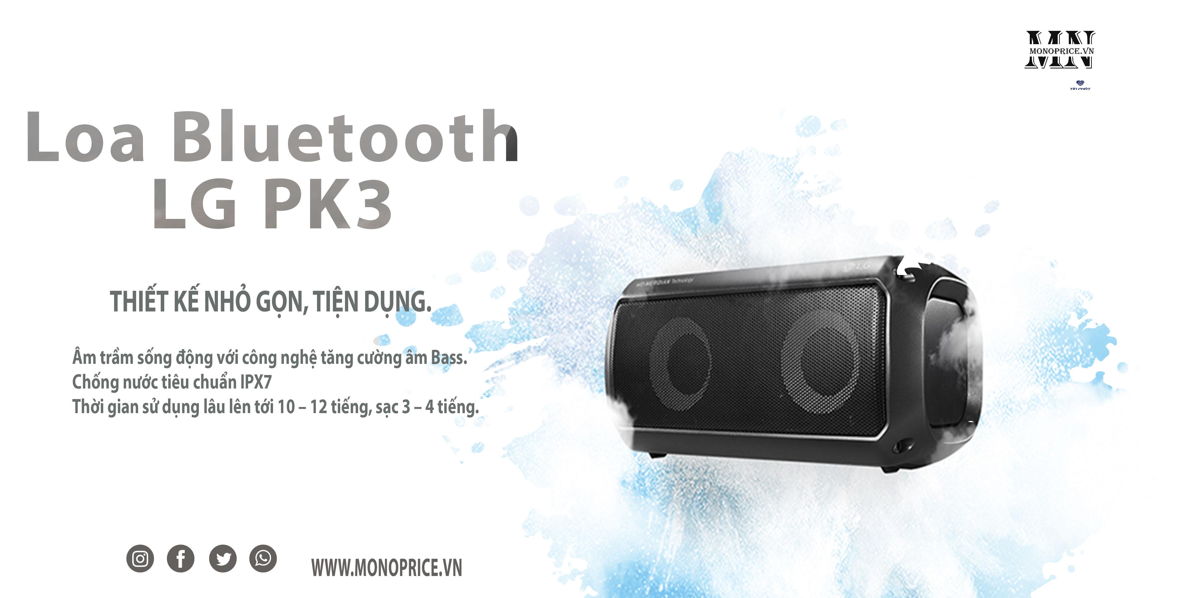 Âm thanh cực chất với loa PK3 chỉ 500K