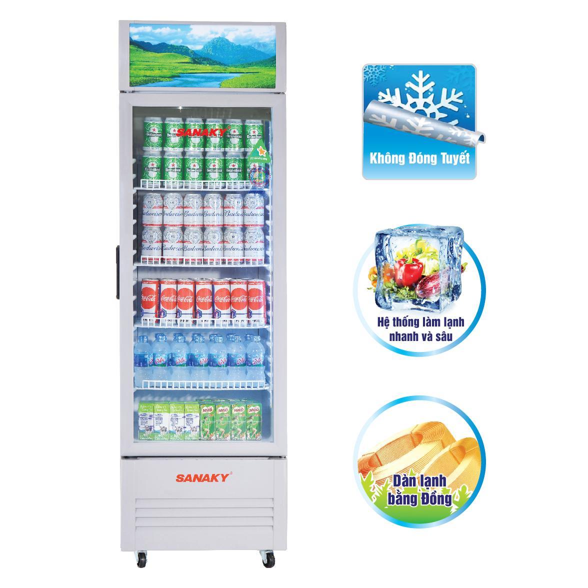 Tủ mát Sanaky VH-358W3 350 lít
