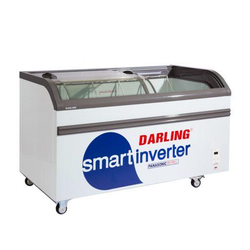 Tủ kem mặt kính Inverter Darling DMF-7079ASKI