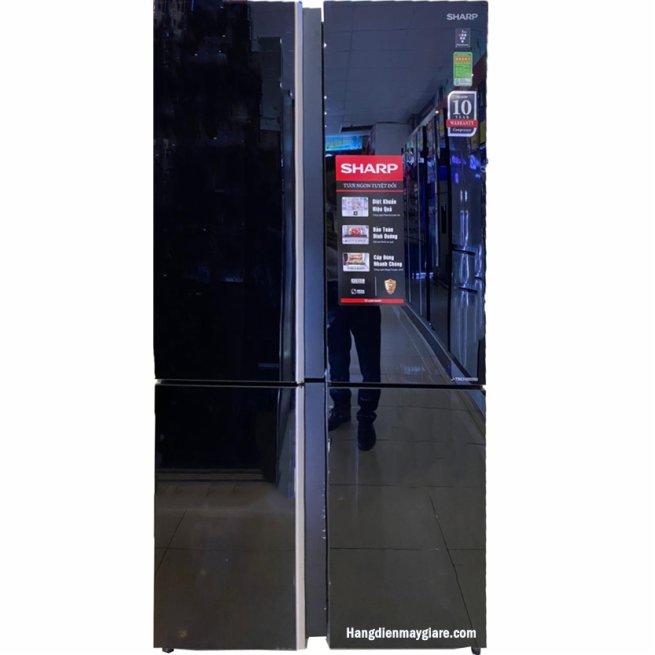 Tủ lạnh Sharp SJ-FXP640VG-BK 639 lít 4 cửa Inverter